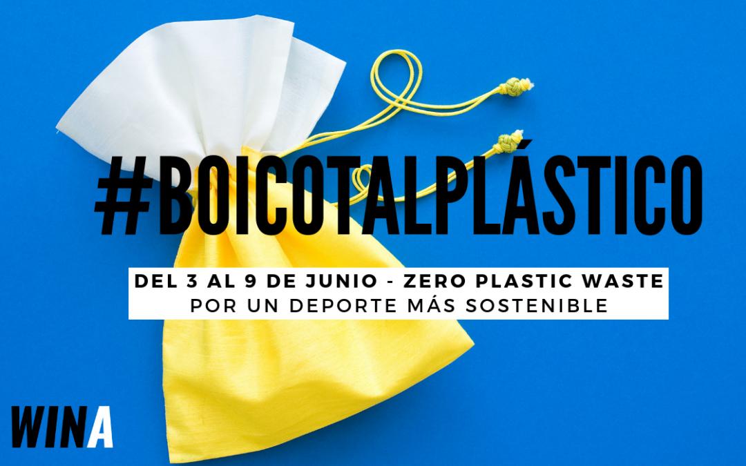 Boicot al plástico en las bolsas del corredor