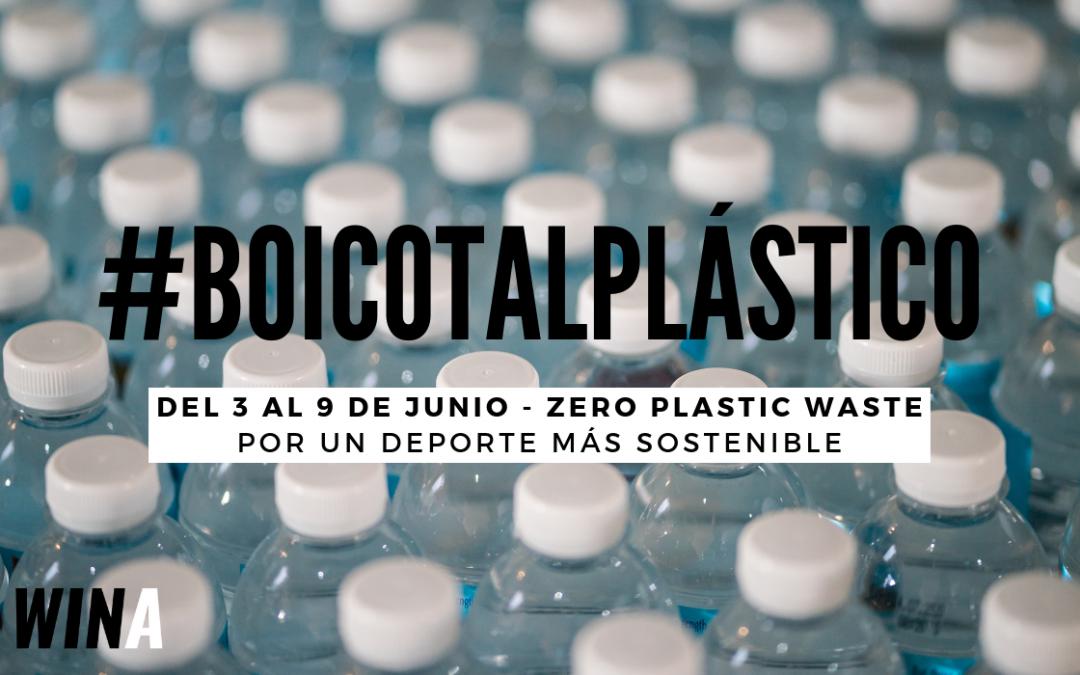 Boicot al plástico, en carrera también