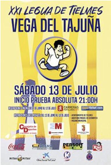 """XXI Legua de Tielmes """"Vega del Tajuña"""""""