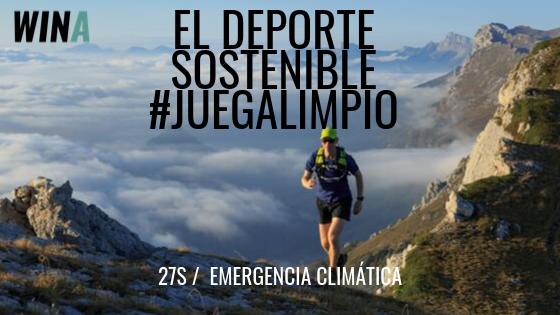 El deporte sostenible exige Emergencia Climática