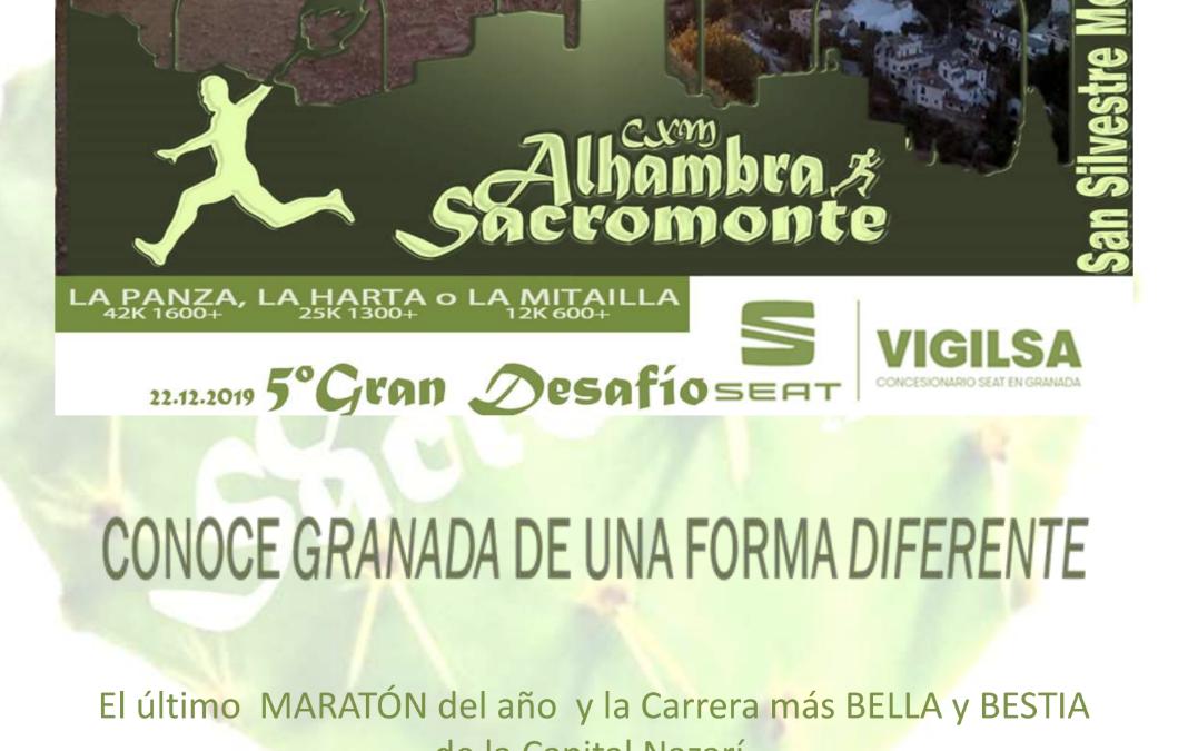 V CxM Alhambra&Sacromonte