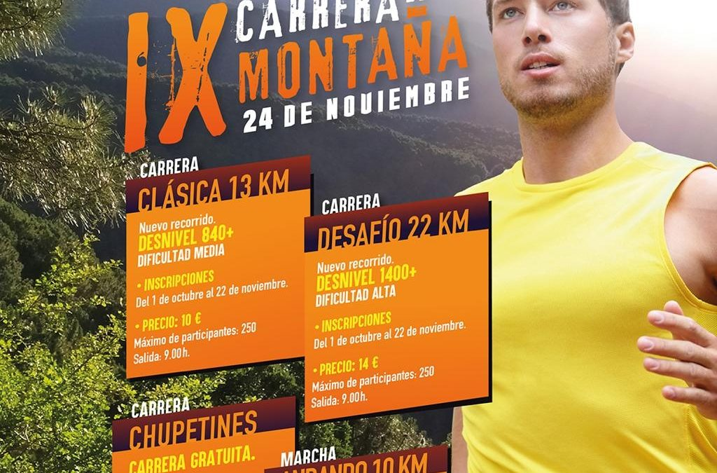 IX carrera de montaña de La Adrada